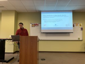 Zhaohui, Dian, and Yewei's oral presentation in NCR Water Resources Symposium, Washington DC, April 12