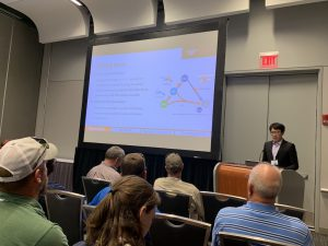 Read more about the article Zhaohui An and Dian Zhang orally presented their research in WaterJam 2019