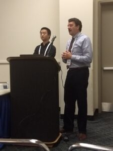In Chesapeake Tri-Association Conference 2018 at Ocean City, Maryland, Dian from SERL and Bob from UOSA co-presented their collaborative research about using cerium salt as an economical precipitant for struvite control and effective dewatering of anaerobic digestate