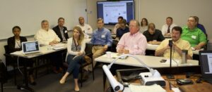 Read more about the article On July 24, 2018, the first CAWRI meeting was held at the Occoquan Laboratory, Manassas, Virginia. Representatives from nine utilities attend the meeting. Seven faculty members presented their research. The participants discussed the issues about research needs and center operation and development.